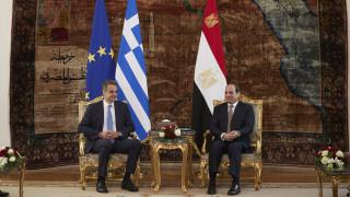 Τηλεφωνική επικοινωνία Μητσοτάκη - Αλ Σίσι για τις εξελίξεις στη Λιβύη