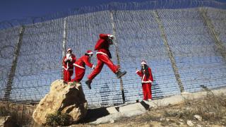 Παλαιστίνη: Χιλιάδες χριστιανοί γιορτάζουν τα Χριστούγεννα στη Βηθλεέμ