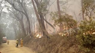 Χριστούγεννα στις φλόγες για τους πυροσβέστες στην Αυστραλία