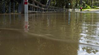 Κατάρρευση υπό κατασκευής γέφυρας στην Πάφο λόγω κακοκαιρίας