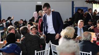 Γιορτινό τραπέζι αλληλεγγύης για 2.000 άπορους στο Κ.Υ.Α.Δ.Α.