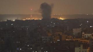 Ισραήλ: Αεροπορικά πλήγματα στη Λωρίδα της Γάζας σε αντίποινα για τη ρίψη ρουκέτας