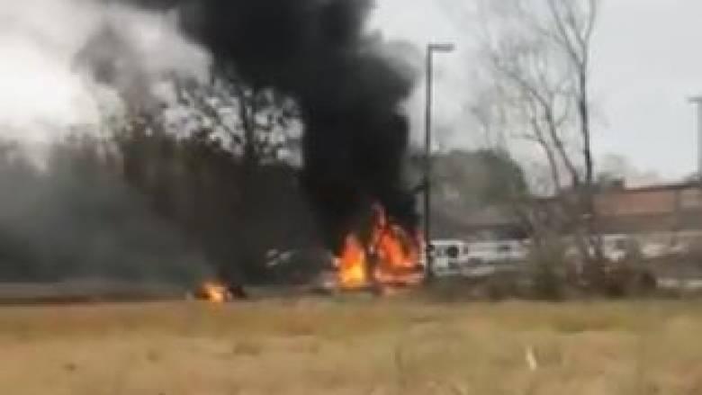 Συντριβή δικινητήριου αεροσκάφους στη Λουιζιάνα με νεκρούς