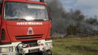 Φωτιά στην περιοχή Πλατιές Κεφαλονιάς