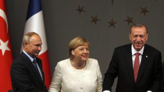 Τηλεφωνικές επικοινωνίες Μέρκελ με Πούτιν-Ερντογάν: Στο επίκεντρο η Λιβύη