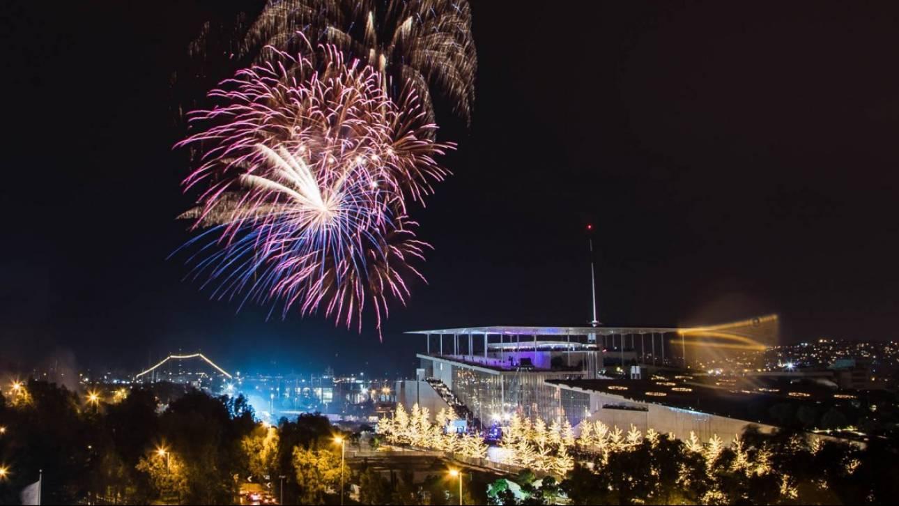 Παραμονή Πρωτοχρονιάς στο ΚΠΙΣΝ: Πυροτεχνήματα, αγώνας δρόμου και ένας θρυλικός dj