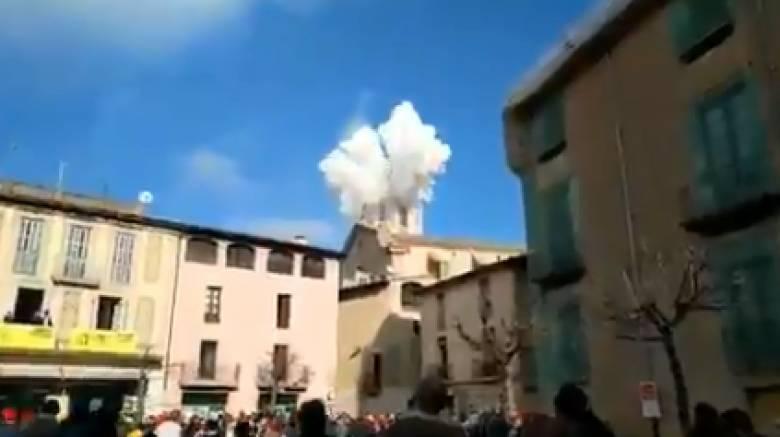 Έκρηξη στην Ισπανία με αρκετούς τραυματίες