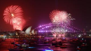 Φαντασμαγορικές εικόνες: Η Αυστραλία υποδέχθηκε το 2020