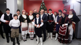 Τα πρωτοχρονιάτικα κάλαντα στον Αλέξη Τσίπρα
