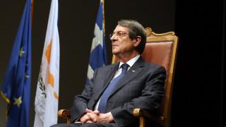 Αναστασιάδης για Κυπριακό: Θα επιμείνω στις προσπάθειες για επανέναρξη συνομιλιών