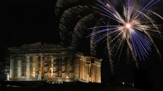 Πρωτοχρονιά: Πώς καλωσόρισαν το 2020 Αθήνα και Θεσσαλονίκη