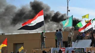 Δεύτερη ημέρα ταραχών έξω από την αμερικανική πρεσβεία στη Βαγδάτη