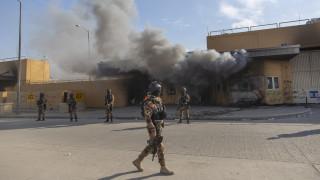Αναστέλλονται οι εργασίες της αμερικανικής πρεσβείας στη Βαγδάτη λόγω ταραχών