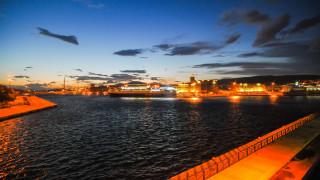 Το πλοίο που έκανε ποδαρικό στο λιμάνι του Πειραιά για το 2020