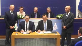 Αγωγός EastMed: Υπεγράφη το προσύμφωνο συνεργασίας μεταξύ ΔΕΠΑ και Energean Oil & Gas