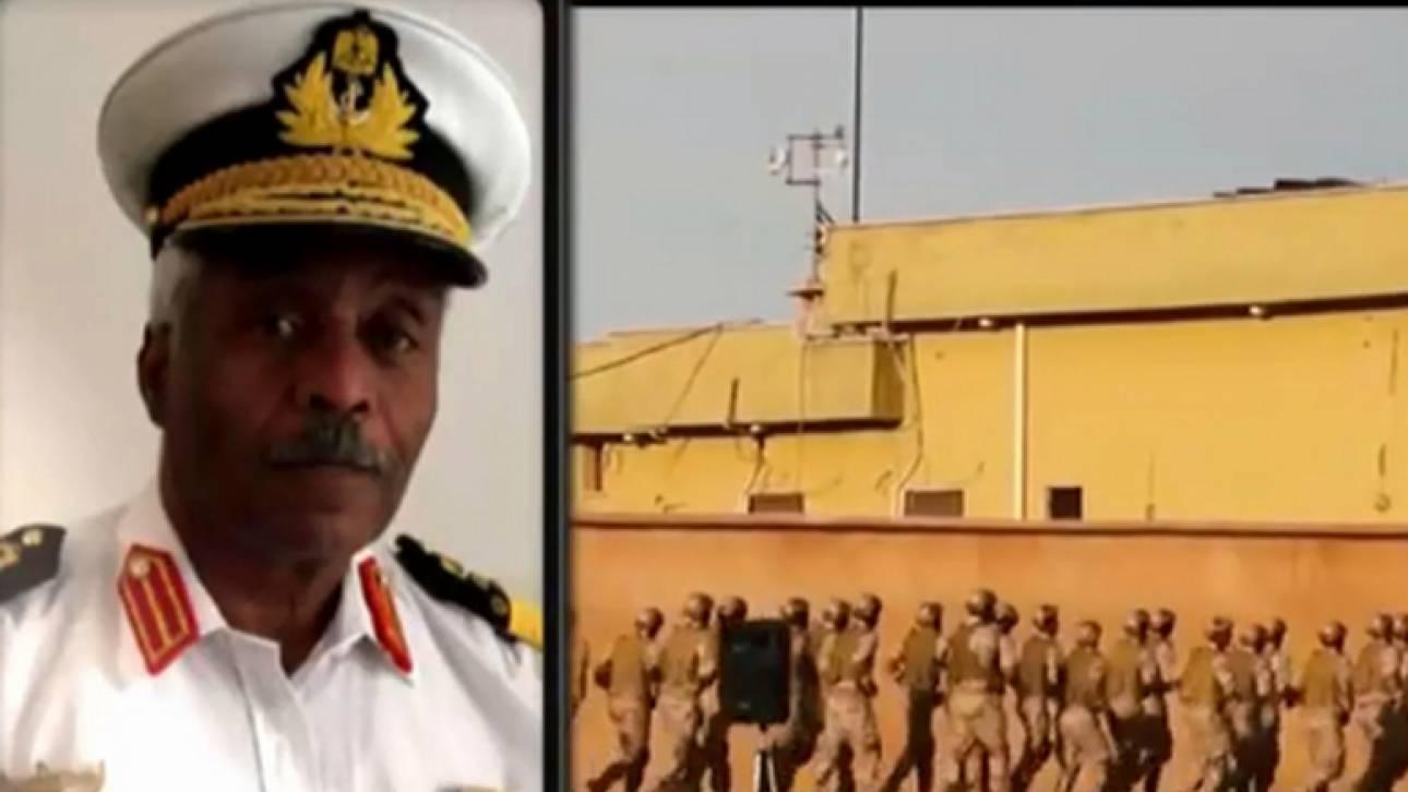 Ανάρτηση στα ελληνικά από τον αρχηγό του Πολεμικού Ναυτικού της Λιβύης