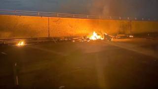 Δολοφονία Σουλεϊμανί: Εικόνες από το σημείο της επίθεσης