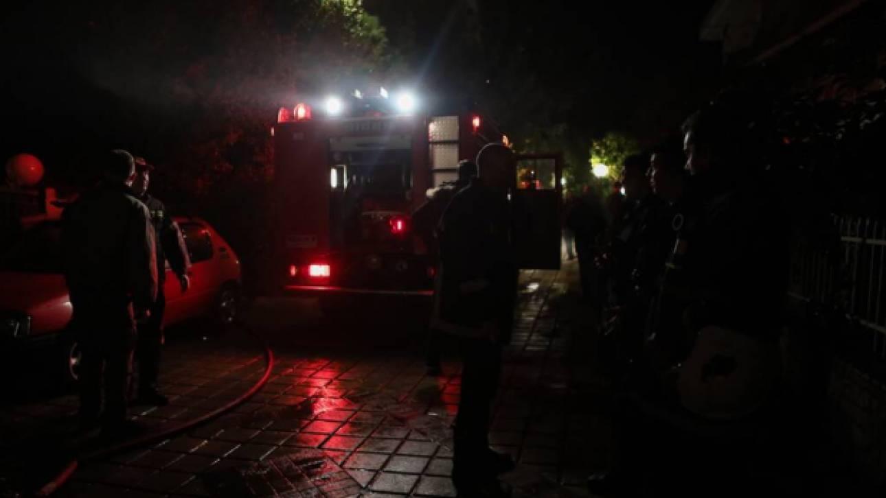 Πυρκαγιά σε κτήριο στο κέντρο του Πειραιά