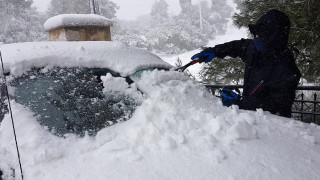Κακοκαιρία «Ηφαιστίων»: Νέα ψυχρή εισβολή με χιόνια και θυελλώδεις ανέμους
