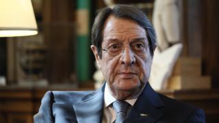 Αναστασιάδης: Επικίνδυνη η επεκτατική πολιτική της Τουρκίας στη Μεσόγειο