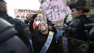 Στους δρόμους ξανά οι Γάλλοι κατά της μεταρρύθμισης του συνταξιοδοτικού συστήματος