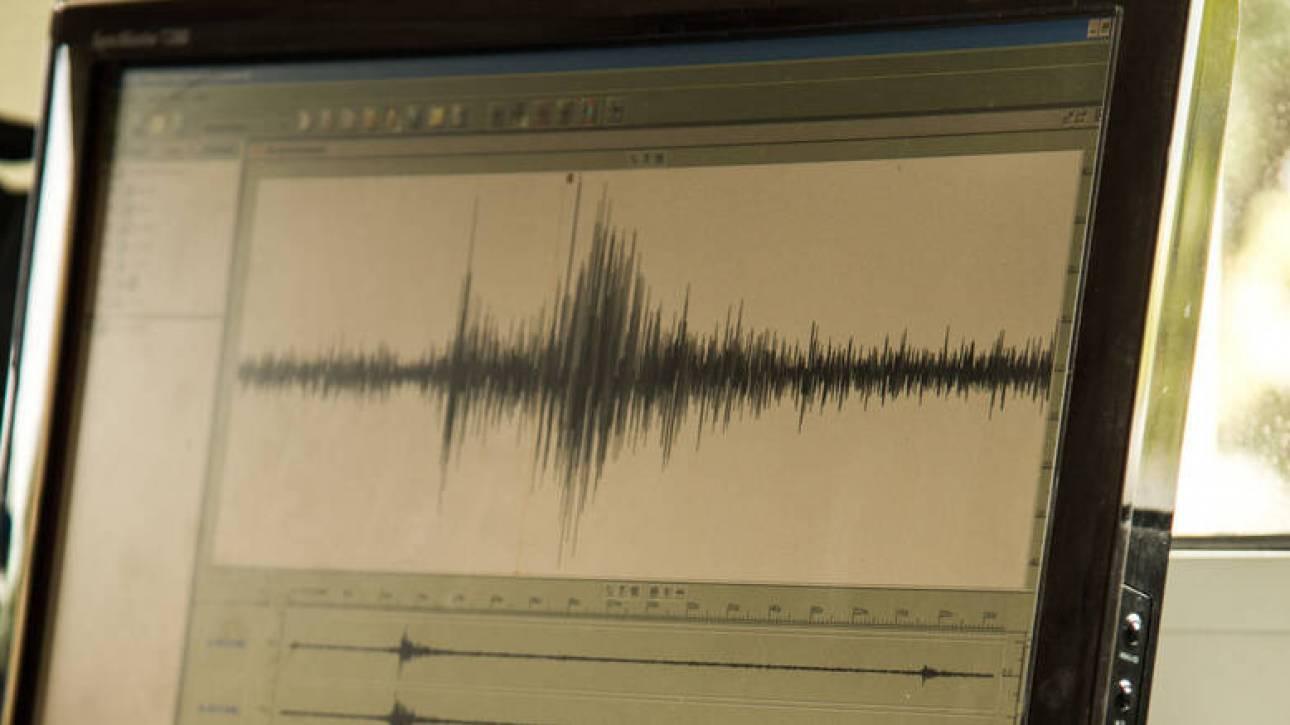 Σεισμός στη θαλάσσια περιοχή της Ικαρίας