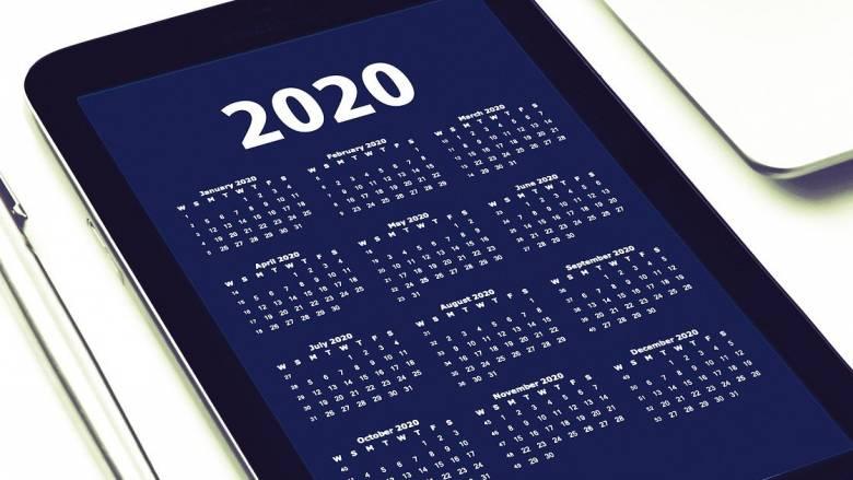 Αργίες 2020: Tα τριήμερα του νέου έτους - Εορταστικό το Google doodle