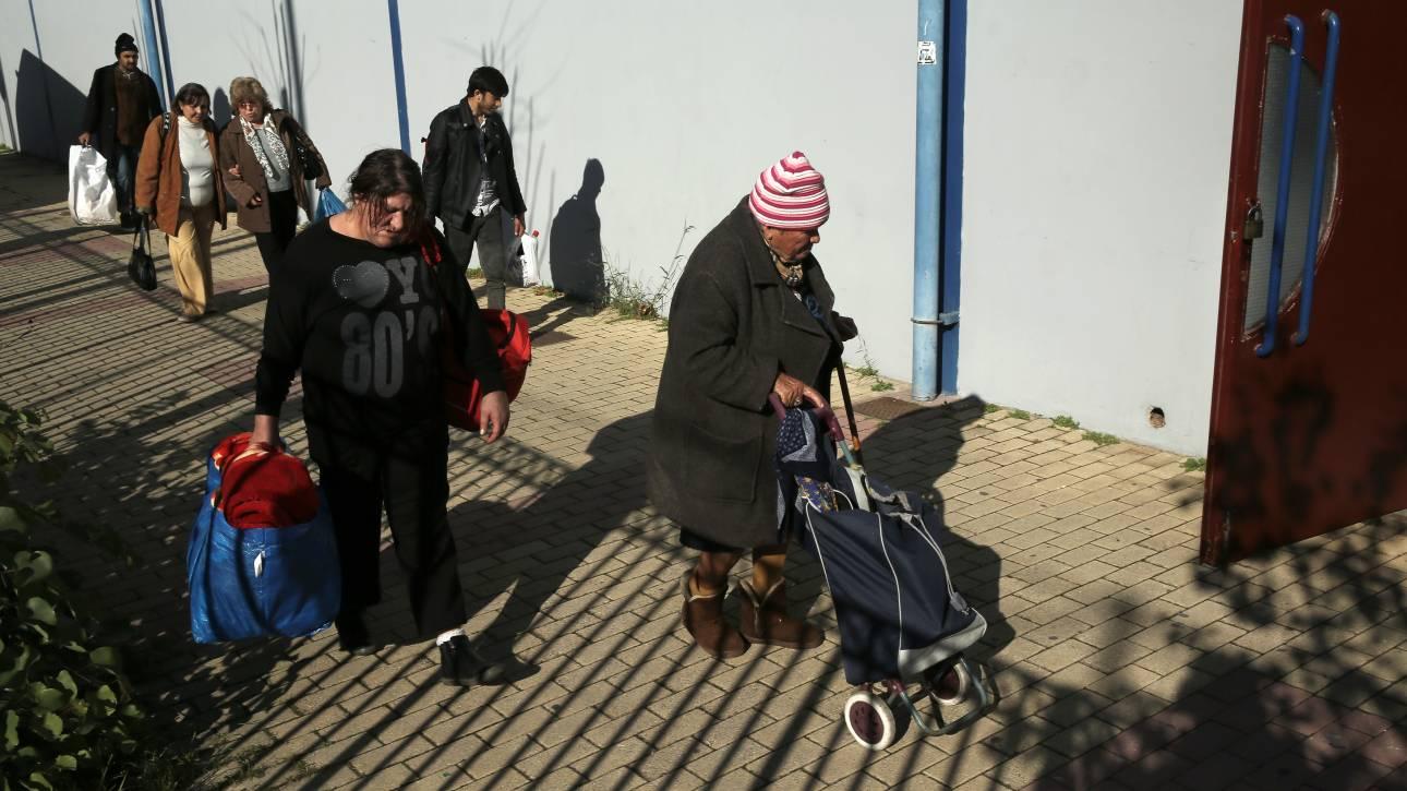 Κακοκαιρία «Ηφαιστίων»: Θερμαινόμενοι χώροι στην Αθήνα για τους αστέγους
