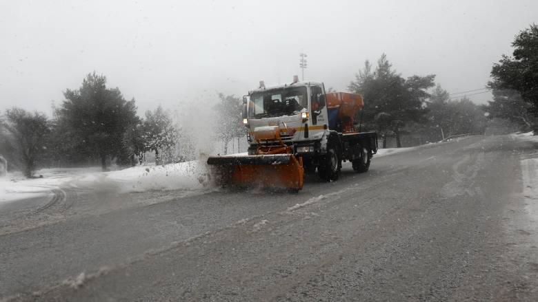 Κακοκαιρία «Ηφαιστίων»: Ποιοι δρόμοι είναι κλειστοί