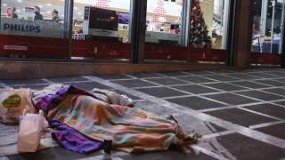 Κακοκαιρία: Ανοιχτοί παραμένουν οι θερμαινόμενοι χώροι του Δήμου Αθηναίων