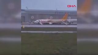 Κωνσταντινούπολη: Αεροσκάφος έφυγε από τον διάδρομο προσγείωσης – Λαχτάρισαν οι επιβάτες