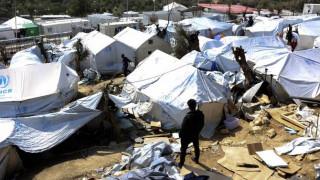Μυτιλήνη: Στο νοσοκομείο τρεις Αφρικανοί μετά την επίθεση Αφγανού στον καταυλισμό της Μόριας