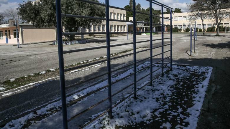 Κακοκαιρία «Ηφαιστίων»: Ποια σχολεία θα παραμείνουν κλειστά την Τετάρτη