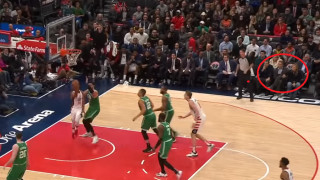 Ο Μητσοτάκης παρακολούθησε ματς του NBA