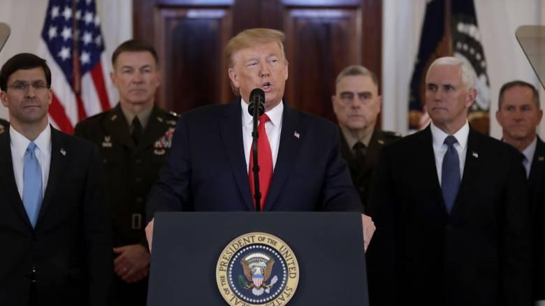 Επίθεση κατά βάσεων των ΗΠΑ - Τραμπ: Δεν υπάρχουν θύματα, το Ιράν φαίνεται να υποχωρεί