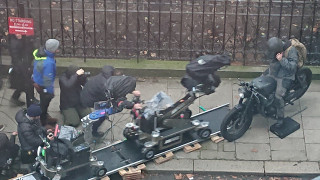 Στα γυρίσματα του νέου Batman στο Λονδίνο (pics)