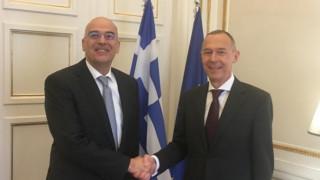 Συναντήσεις Δένδια με Ρώσο και Ιταλό πρέσβη