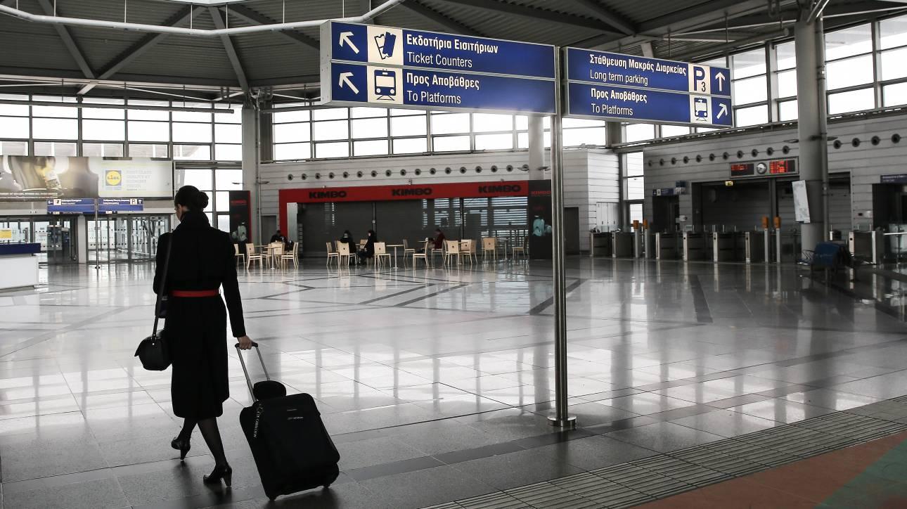 Παραμένει το πρόβλημα στα δρομολόγια του μετρό προς αεροδρόμιο