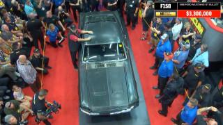 Η πιο διάσημη Ford Mustang του κόσμου, αυτή της ταινίας Bullitt, είναι πλέον και η πιο ακριβή