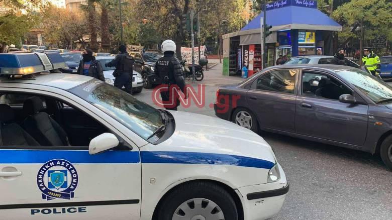 Εκτεταμένη αστυνομική επιχείρηση στα Εξάρχεια