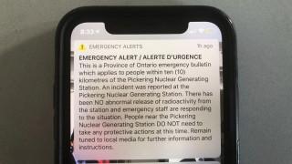 Καναδάς: Πανικός από ...λάθος μήνυμα για πυρηνικό «περιστατικό»