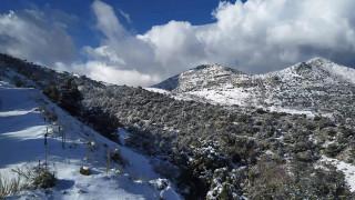 Μειωμένη η χιονοκάλυψη φέτος ακόμη και μετά τη «Ζηνοβία» και τον «Ηφαιστίωνα»