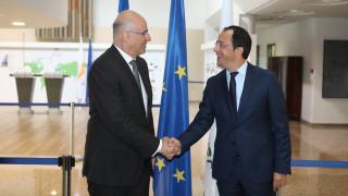 Συνάντηση Δένδια - Χριστοδουλίδη τη Δευτέρα: Κυπριακό και Ανατολική Μεσόγειος στην ατζέντα
