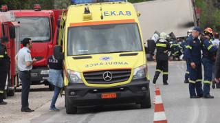 Τροχαίο δυστύχημα στην Εθνική: Σύγκρουση λεωφορείου του ΚΤΕΛ με νταλίκα – Ένας νεκρός
