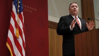 Πομπέο: Mέρος της νέας στρατηγικής «αποτροπής» των ΗΠΑ η δολοφονία Σουλεϊμανί