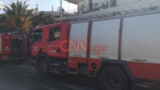 Φωτιά Μελίσσια: Απεγκλωβίστηκαν όλοι οι κάτοικοι του κτηρίου