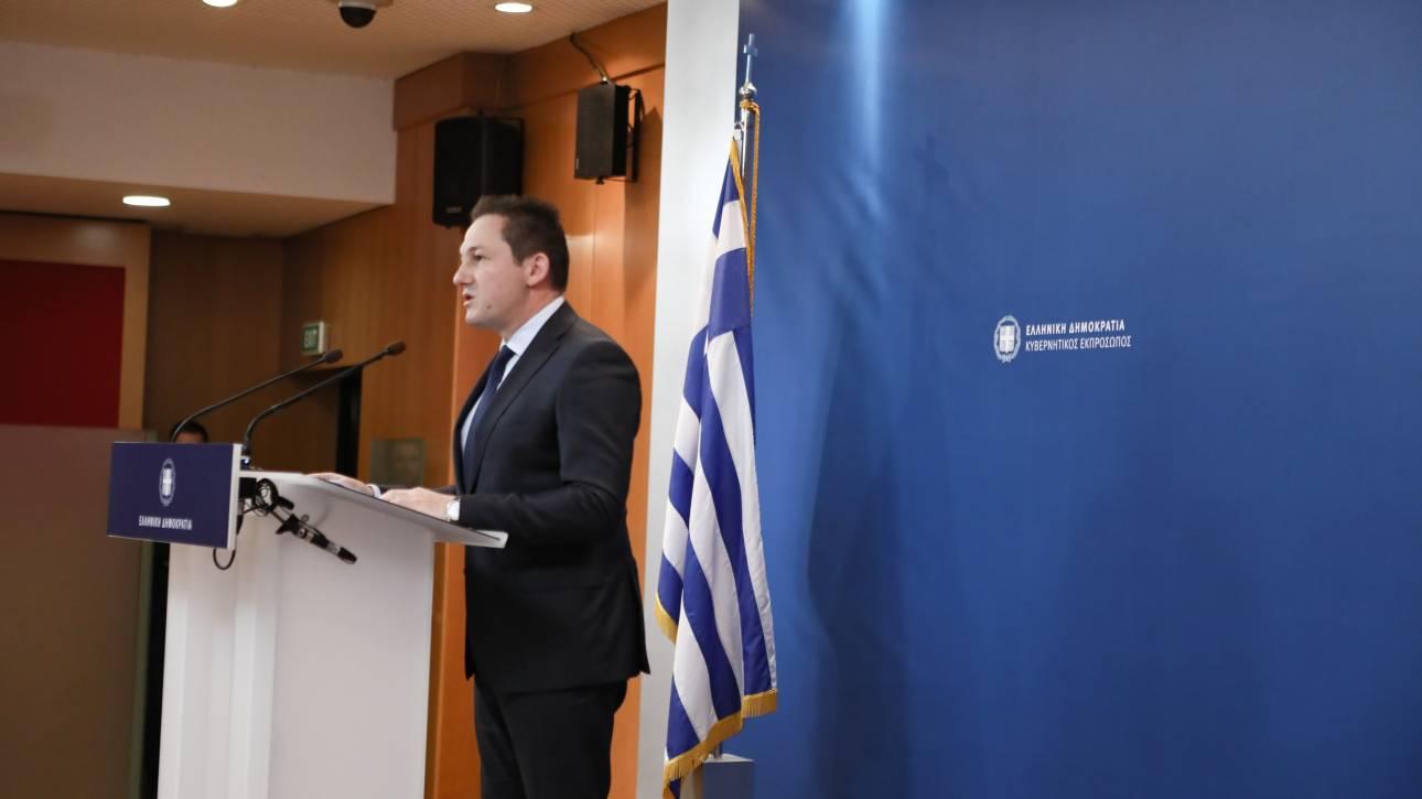 Πέτσας: Κατέστη σαφές ότι δεν θα δείξουμε καμία ανοχή σε παραβίαση των κυριαρχικών μας δικαιωμάτων