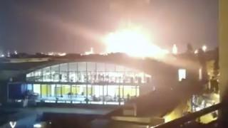 Ισπανία: Βίντεο από τη στιγμή της έκρηξης στο εργοστάσιο χημικών