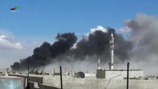 Η Συρία κατηγορεί το Ισραήλ ότι εξαπέλυσε νέο αεροπορικό βομβαρδισμό στην επαρχία Χομς