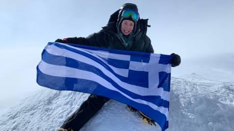 Η πρώτη Ελληνίδα που πετυχαίνει το «7 Summits»
